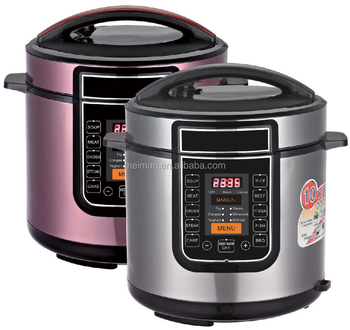 Wholesale new style pressure cooker with temperature control with automatic keep warm function CR-20