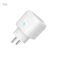 wireless smart plug wifi eu 16A socket google alexa tuya smart plug