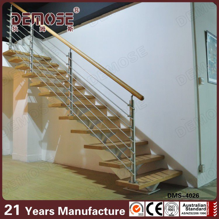 New Curved Wood Stairs Floating Staircase