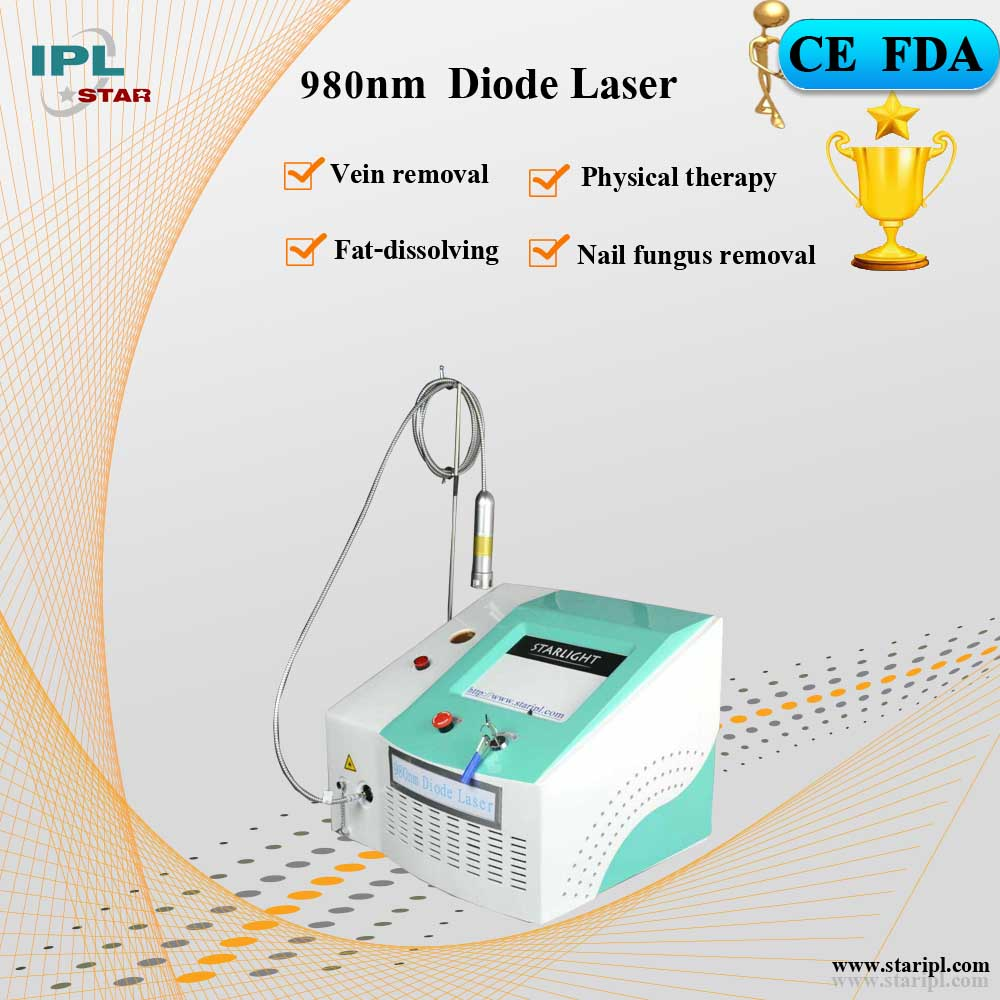 810nm/980nm Diode laser system for veterinary surgery and therapy