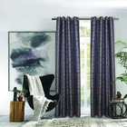 Jacquard woven 100% polyester curtain fabric living room window luxury jacquard church curtains fabric for curtain