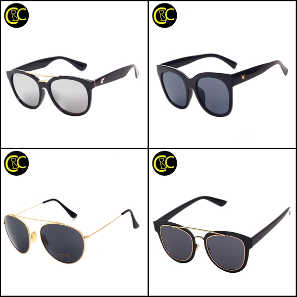 Newest Vintage Fashion Twisted Temple Coating Eyewear Summer Cat Eye Sunglasses Women Brand Designer oculos de sol UV400 CC0512