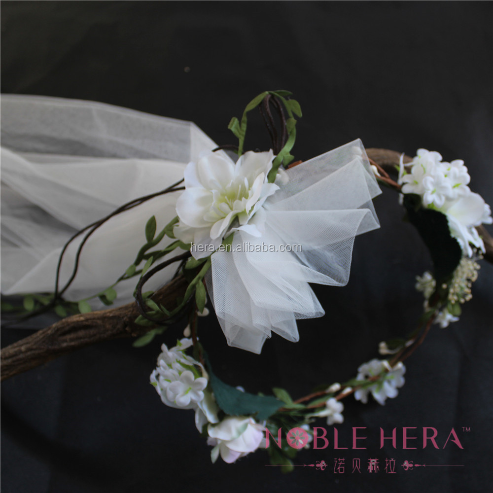 Wholesale handmade jasmine flower wreath for bridal hair buy wholesale handmade jasmine flower wreath for bridal hair buy jasmine wreathhair wreaths bridalgarland wedding headpiece product on alibaba izmirmasajfo