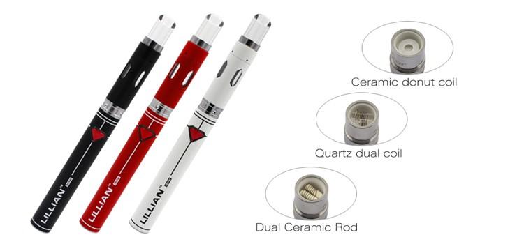 Best Wax Vape Pen Smoking Pipe Lilian Mini