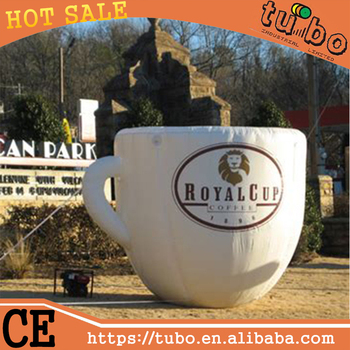 Wonderbaar Factory Outlet Coffee Cup,Giant Inflatable Coffee Cup For CM-34
