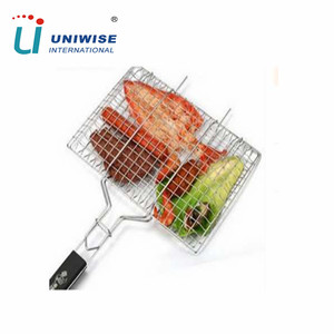 Outdoor Food Grade Heat-resistance BBQ Tool BBQ Grill Set Basket