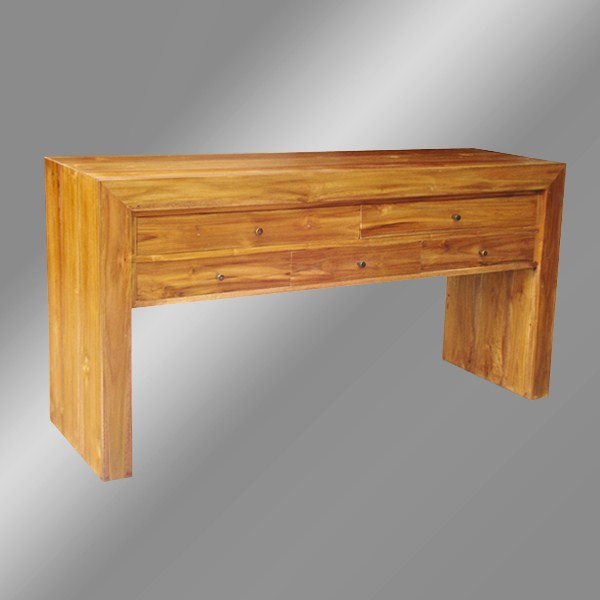 Petemon Console Table with drawers