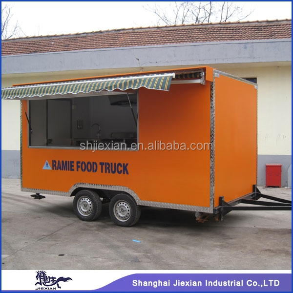 JX-FS400H mobile advertising truck with enough big space and good quality