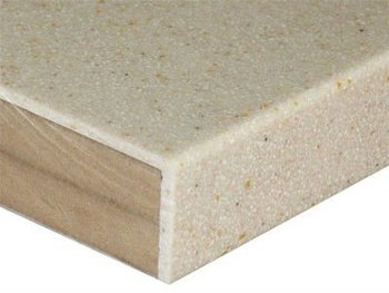Mdf With Solid Surface Veneer Kitchen Countertop Sheet