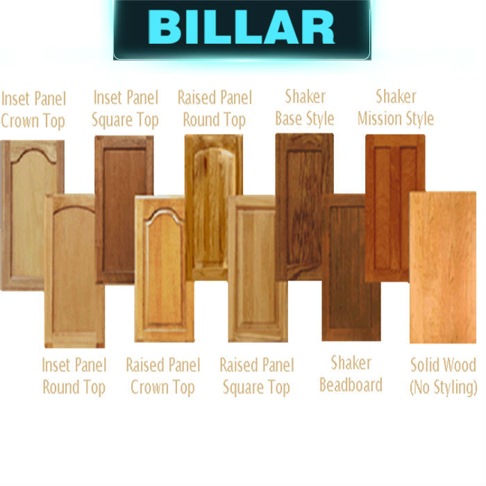 European standard italian kitchen doors