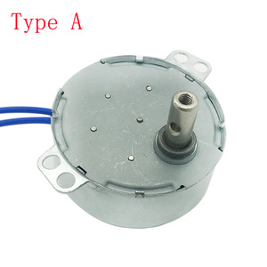 TYC-50 Plastic Gears Permanent Magnet Synchronous Motor For Fan/Induction Cooker/Lamps