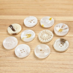 4 hole round shape white all types rod polyester garment button