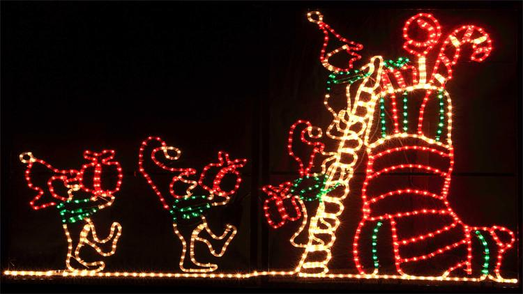 Led Motif Light Outdoor Christmas Animals