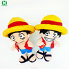 HI Monkey D Luffy plush toys One Piece anime plush stuffed toys