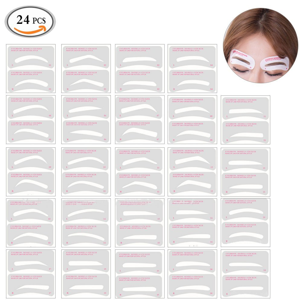 picture regarding Printable Eyebrow Stencil titled Affordable Eyebrow Grooming Package, uncover Eyebrow Grooming Package promotions