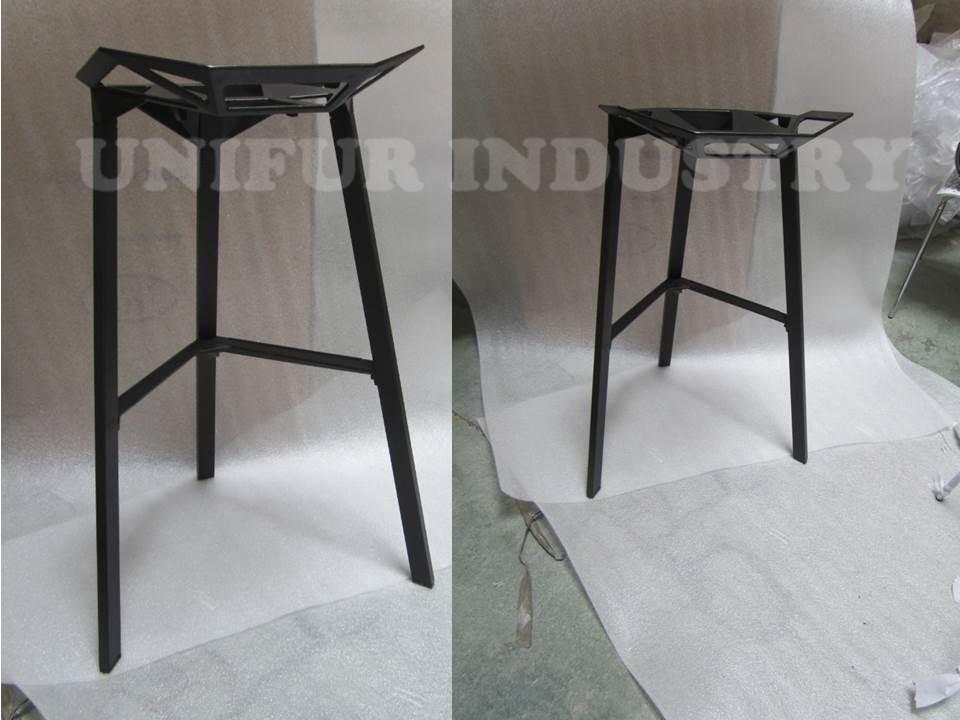 Esterno sgabelli da bar in alluminio replica magis stile