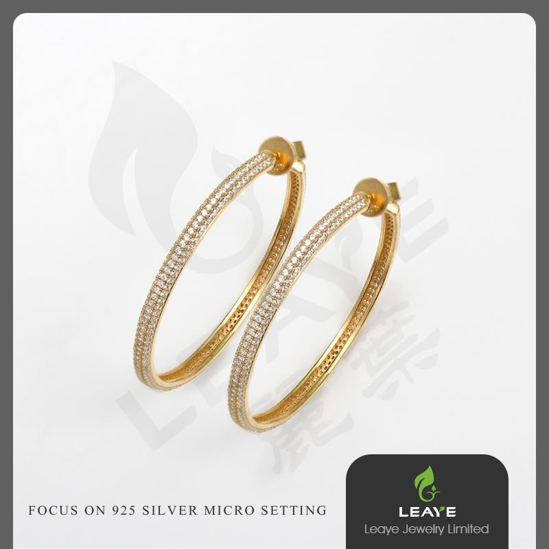 China Suppliers Customized Hoop Earrings,O-ring Earrings For ...