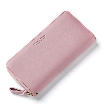 Weichen Forever Young Hot Sale Women Wallet Ladies Long Leather Purse