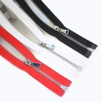 zipper # 3 #5 Manufacturer Custom logo Metal Brass Plastic Nylon Fashion Zipper