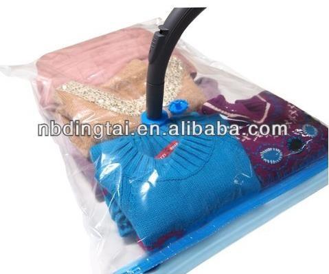 Travel E Bag Vacuum Plastic Transpa Bags Clothes Air Sealed
