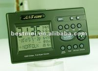 Automatic portable digital clock with mp3 player