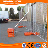 high quality galvanized can be moved outdoor temporary fence