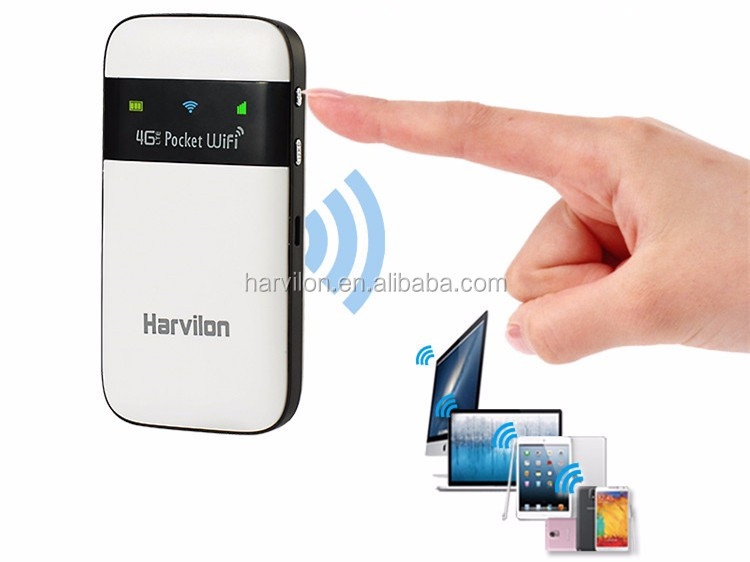 Global Travel 4G+ LTE  Portable Hotspot MiFis 150Mbps 4G Mobile WiFi router with SIM Card Slot