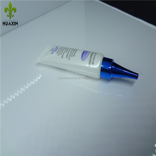 10ml beauty eye cream tubes in offset printing plastic wing cover Sharp tip inside the plug