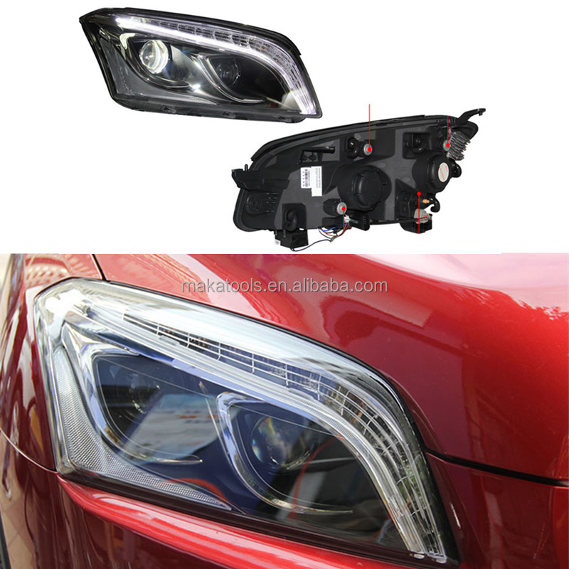 For Chevrolet Trax 2014-16 HID+Headlight Assembly Set LED+DRL Lighting Refit