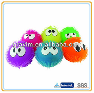 Promotional novelty puffer ball toy