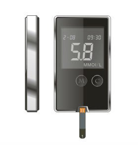 Blood Glucometer Small,practical,easy to use