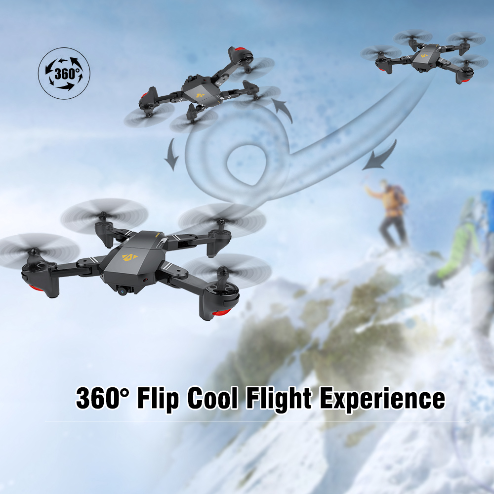 Visuo original 4 Changle drone tragschrauber wifi fpv XS809HW unmanned aerial vehicle faltbare drone mit hd 0.3MP kamera