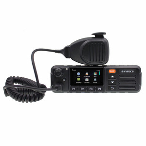 ANYSECU 3G IP Radio WCDMA/GSM Radio with GPS SOS Function work with REAL PTT / ZELLO 3G Car Radio 3G-W7 Android system