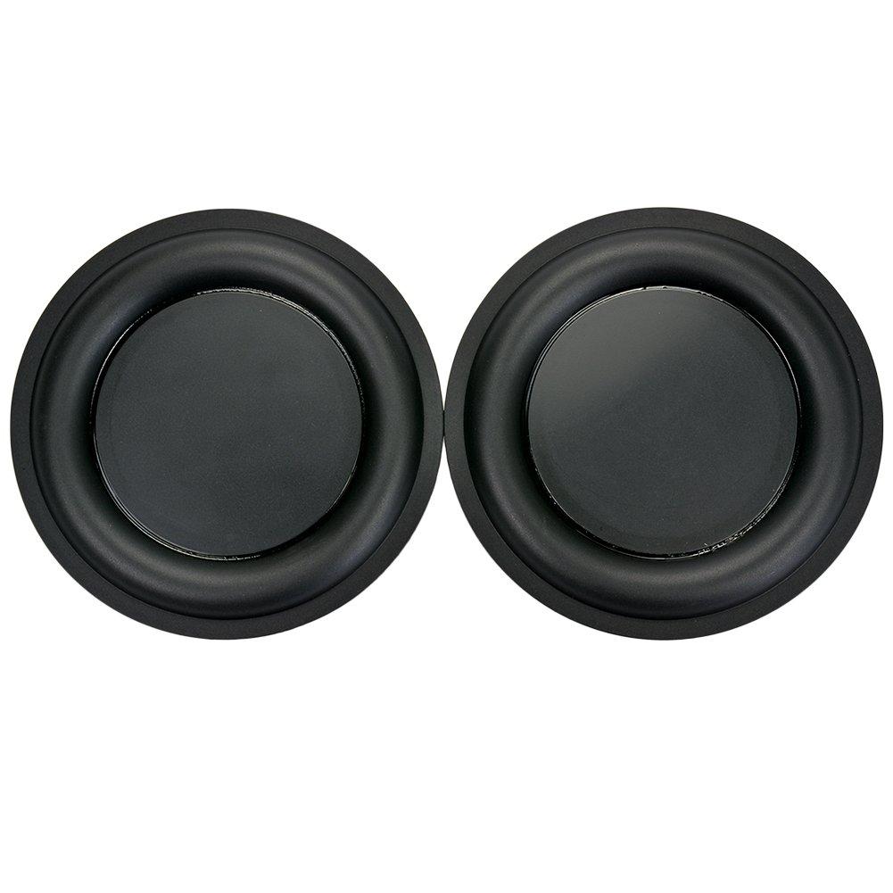 Aoshike 2pcs 6.5inch 160mm stereo strengthen bass vibration plate membrane/vibrating diaphragm DIY Bass Speaker diaphragm,Speaker Passive Radiator Replacement Kit