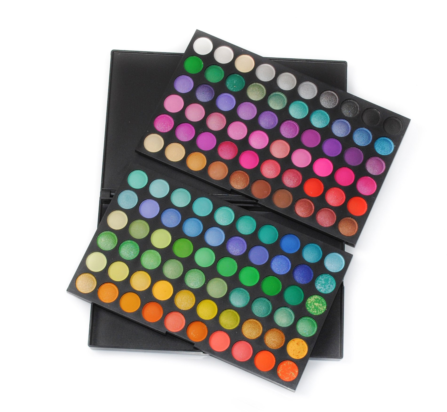 Frola Cosmetics Professional 120 Color Eyeshadow Makeup Palette Cosmetics Set #01
