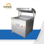 DZT7050 Latest food vacuum skin packaging machine for fish meat shrimp