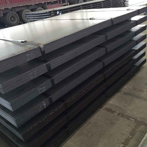 Hot rolled Q235 Q345 steel plate ss400 hardness painted