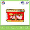 Trustworthy china supplier canned meat/198g canned pork luncheon meat