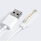 New Product USB 2.0 Male to 4 Pin Pogo Power Charger Cable Magnetic Charger Cable Smart Watch Charger Pin