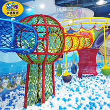 Customize children commercial indoor rope course playground equipment