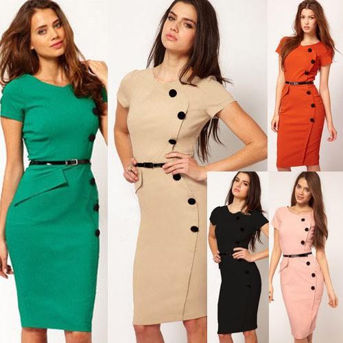 dames kantoor jurken