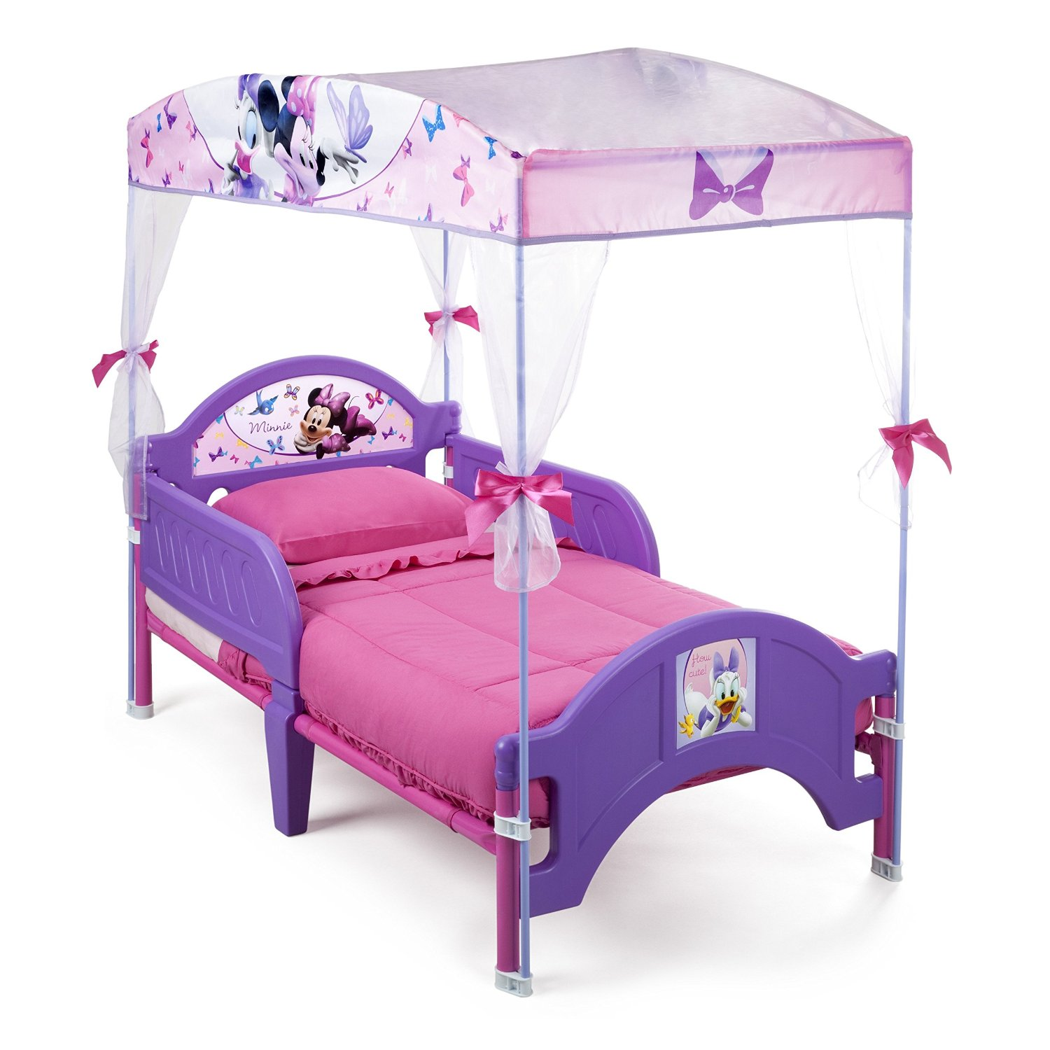 Buy Delta Childrens Products Minnie Mouse Canopy Toddler ...