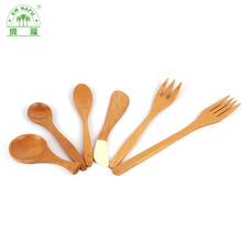 Custom eco-friendly bamboo spoon set / mini coffee spoon