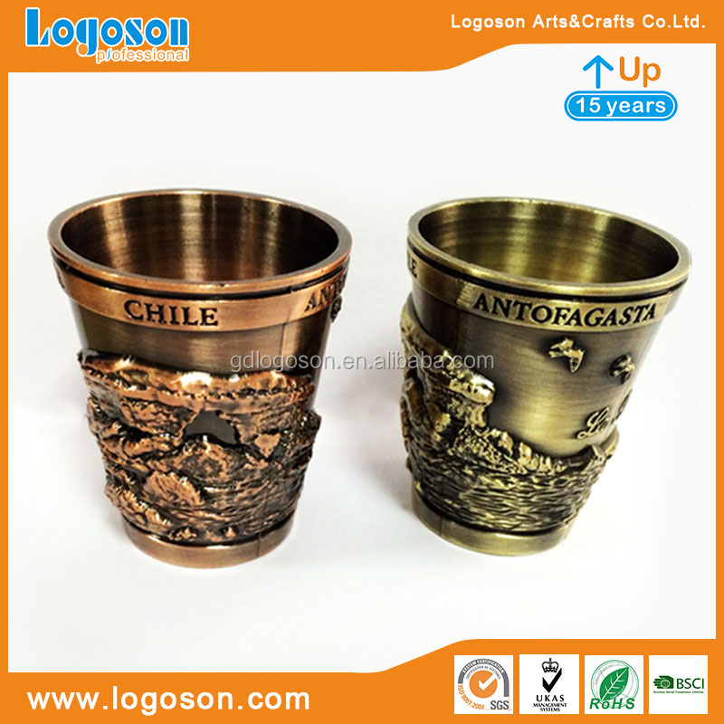 Personalized Shot Glasses Zhongshan Factory Custom Decorative Colored Shot Glasses