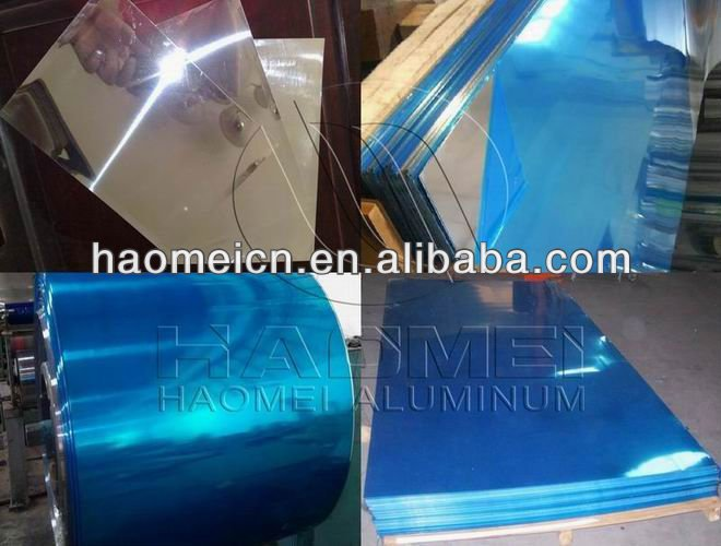 film clad alminium mirror coil with good quality and low price