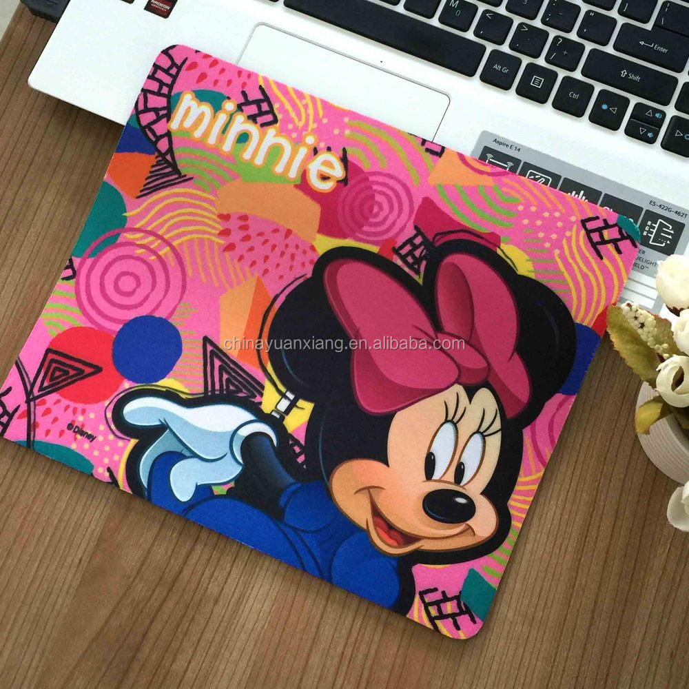 a2ad62f92 Mickey Minnie Mouse Design Silicone Mouse Pad With Disney Fama Audit ...