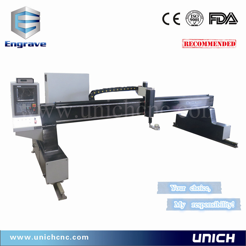 Reduction sale gantry type cutting metal/haibao plasma cutting power machine