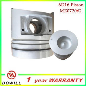 hotsale ME072062 6D16 engine piston
