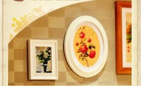 Handmade big paintable picture 3x5 frame with hook up