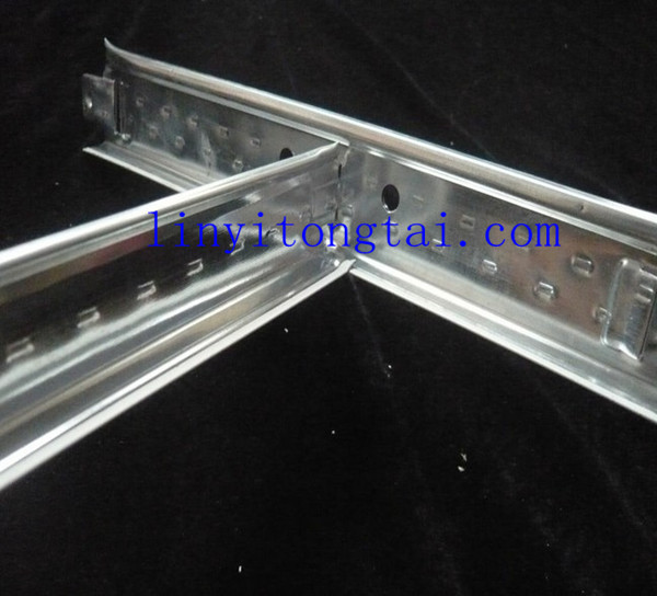 ceiling t-bar /suspended flat ceiling t-bar/ceiling accessories t-bar